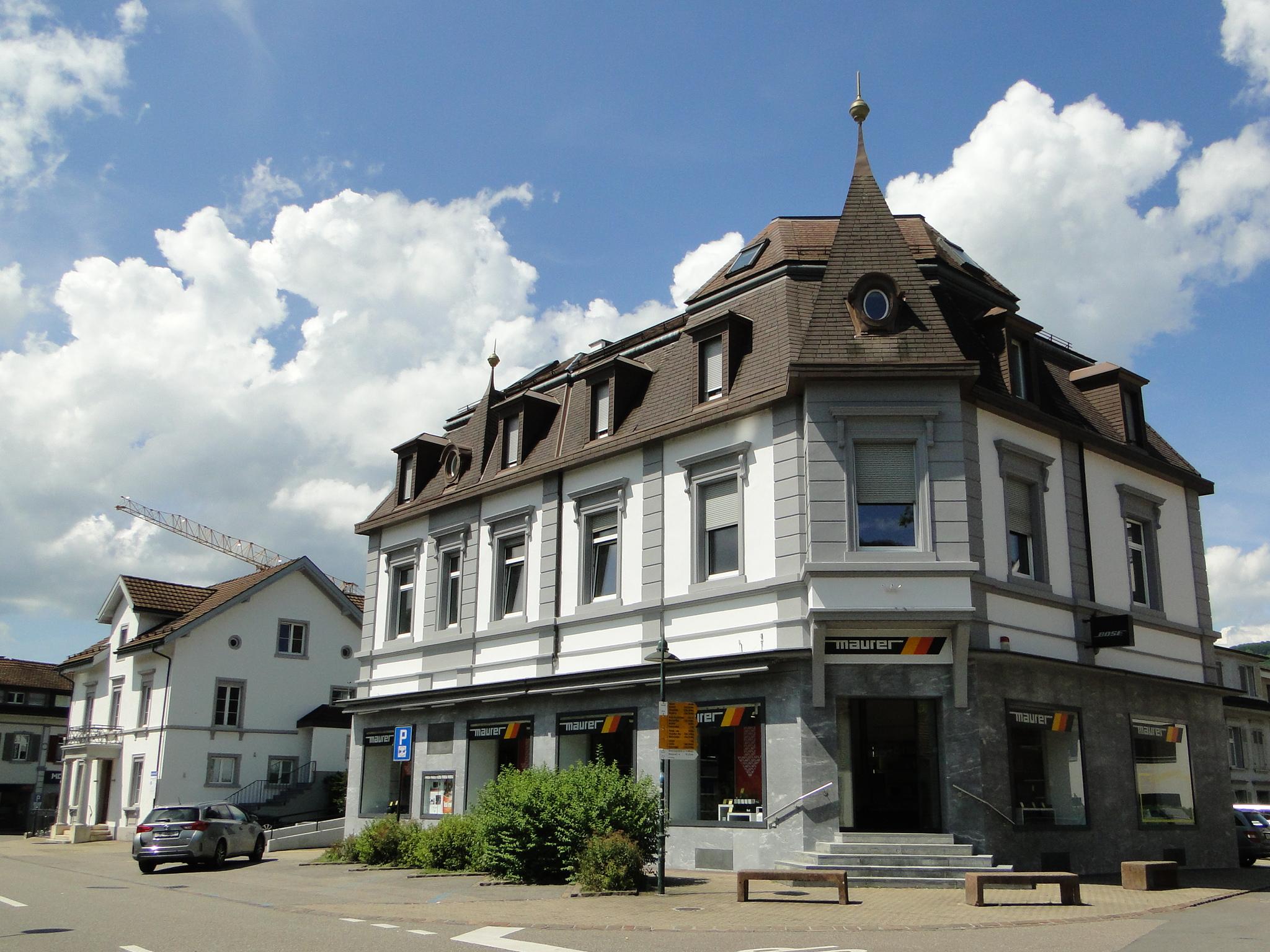 Maurer Radio Television AG, Sissach, Aussenansicht