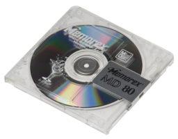 MiniDisc auf CD