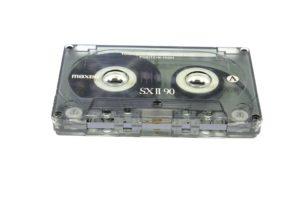 Audio Kassette auf CD